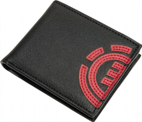 ELEMENT MENS WALLET.NEW DAILY BLACK VEGAN LEATHER CREDIT CARD MONEY PURSE S20 A4